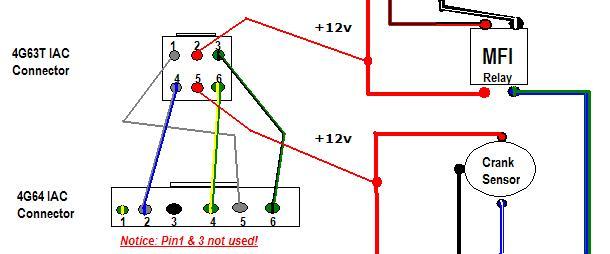 4G64 to 4G63t IAC Wiring Diagram DSM Forums Mitsubishi Eclipse – Iac Solenoid Wiring Diagram
