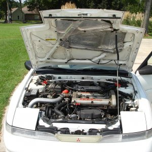 Engine Bay front