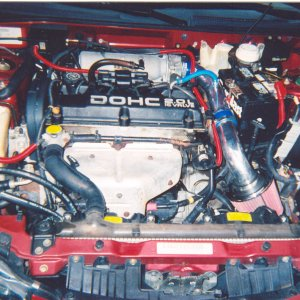 Jody's Eclipse's engine