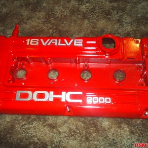Finished valve cover